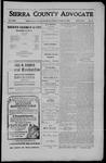 Sierra County Advocate, 1910-09-02 by J.E. Curren