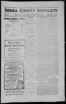 Sierra County Advocate, 1910-09-23 by J.E. Curren