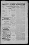 Sierra County Advocate, 1910-09-30 by J.E. Curren