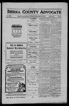 Sierra County Advocate, 1910-10-28 by J.E. Curren