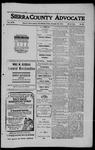 Sierra County Advocate, 1910-11-25 by J.E. Curren