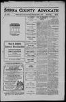 Sierra County Advocate, 1910-12-02 by J.E. Curren