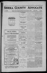 Sierra County Advocate, 1910-12-09 by J.E. Curren