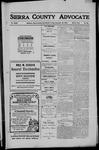 Sierra County Advocate, 1910-12-16 by J.E. Curren