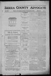 Sierra County Advocate, 1910-12-23 by J.E. Curren