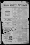 Sierra County Advocate, 1910-12-30 by J.E. Curren