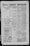 Sierra County Advocate, 1911-01-06 by J.E. Curren