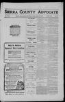 Sierra County Advocate, 1911-01-20 by J.E. Curren
