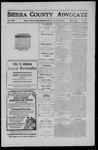 Sierra County Advocate, 1911-01-27 by J.E. Curren