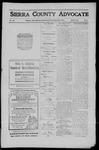 Sierra County Advocate, 1911-03-31 by J.E. Curren