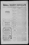 Sierra County Advocate, 1911-06-02 by J.E. Curren