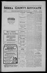 Sierra County Advocate, 1911-06-16 by J.E. Curren