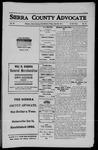Sierra County Advocate, 1911-06-23 by J.E. Curren