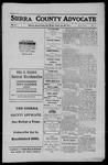 Sierra County Advocate, 1911-06-30 by J.E. Curren