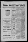 Sierra County Advocate, 1911-07-14 by J.E. Curren