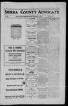 Sierra County Advocate, 1911-07-21 by J.E. Curren