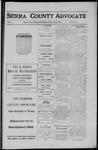 Sierra County Advocate, 1911-07-28 by J.E. Curren