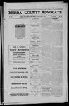 Sierra County Advocate, 1911-08-04 by J.E. Curren