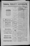 Sierra County Advocate, 1911-08-11 by J.E. Curren