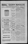Sierra County Advocate, 1911-09-01 by J.E. Curren