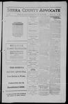 Sierra County Advocate, 1911-09-15 by J.E. Curren
