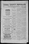 Sierra County Advocate, 1911-09-22 by J.E. Curren