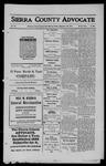 Sierra County Advocate, 1911-09-29 by J.E. Curren