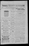 Sierra County Advocate, 1911-10-13 by J.E. Curren