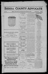 Sierra County Advocate, 1911-10-27 by J.E. Curren