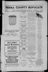 Sierra County Advocate, 1911-11-03 by J.E. Curren