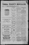 Sierra County Advocate, 1911-11-17 by J.E. Curren