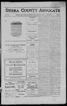 Sierra County Advocate, 1911-12-01 by J.E. Curren