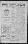 Sierra County Advocate, 1911-12-08 by J.E. Curren