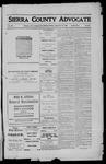 Sierra County Advocate, 1911-12-15 by J.E. Curren