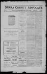 Sierra County Advocate, 1911-12-22 by J.E. Curren