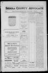 Sierra County Advocate, 1912-01-12 by J.E. Curren