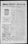 Sierra County Advocate, 1912-01-19 by J.E. Curren