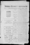 Sierra County Advocate, 1912-01-26 by J.E. Curren