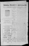 Sierra County Advocate, 1912-02-02 by J.E. Curren