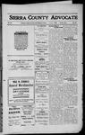 Sierra County Advocate, 1912-02-09 by J.E. Curren
