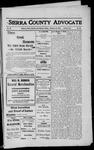 Sierra County Advocate, 1912-02-16 by J.E. Curren