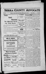 Sierra County Advocate, 1912-03-01 by J.E. Curren