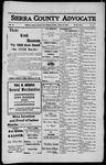 Sierra County Advocate, 1912-03-08 by J.E. Curren