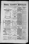 Sierra County Advocate, 1912-04-05 by J.E. Curren