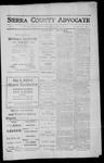Sierra County Advocate, 1912-04-12 by J.E. Curren