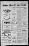 Sierra County Advocate, 1912-04-19 by J.E. Curren