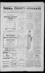 Sierra County Advocate, 1912-05-03 by J.E. Curren