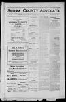 Sierra County Advocate, 1912-05-10 by J.E. Curren