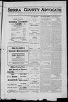 Sierra County Advocate, 1912-05-17 by J.E. Curren
