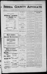 Sierra County Advocate, 1912-05-24 by J.E. Curren